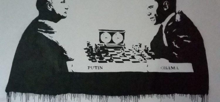 Sjakk Putin/ Obama