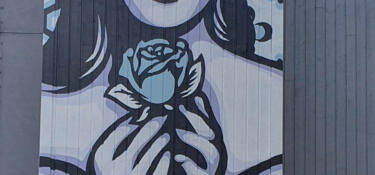 Jente med rose
