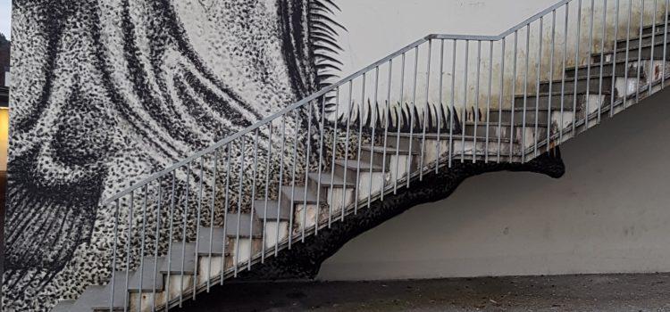 Fisk i trappen