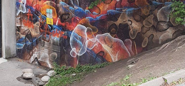Bobler på vegg
