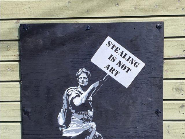 Cæsar. Stealing is not art