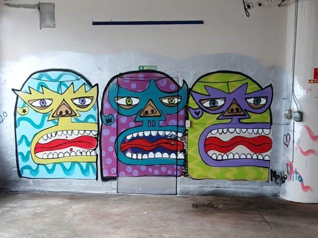 Tre stk El Púgil